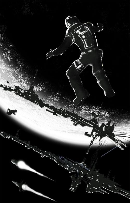 Amanece en el espacio